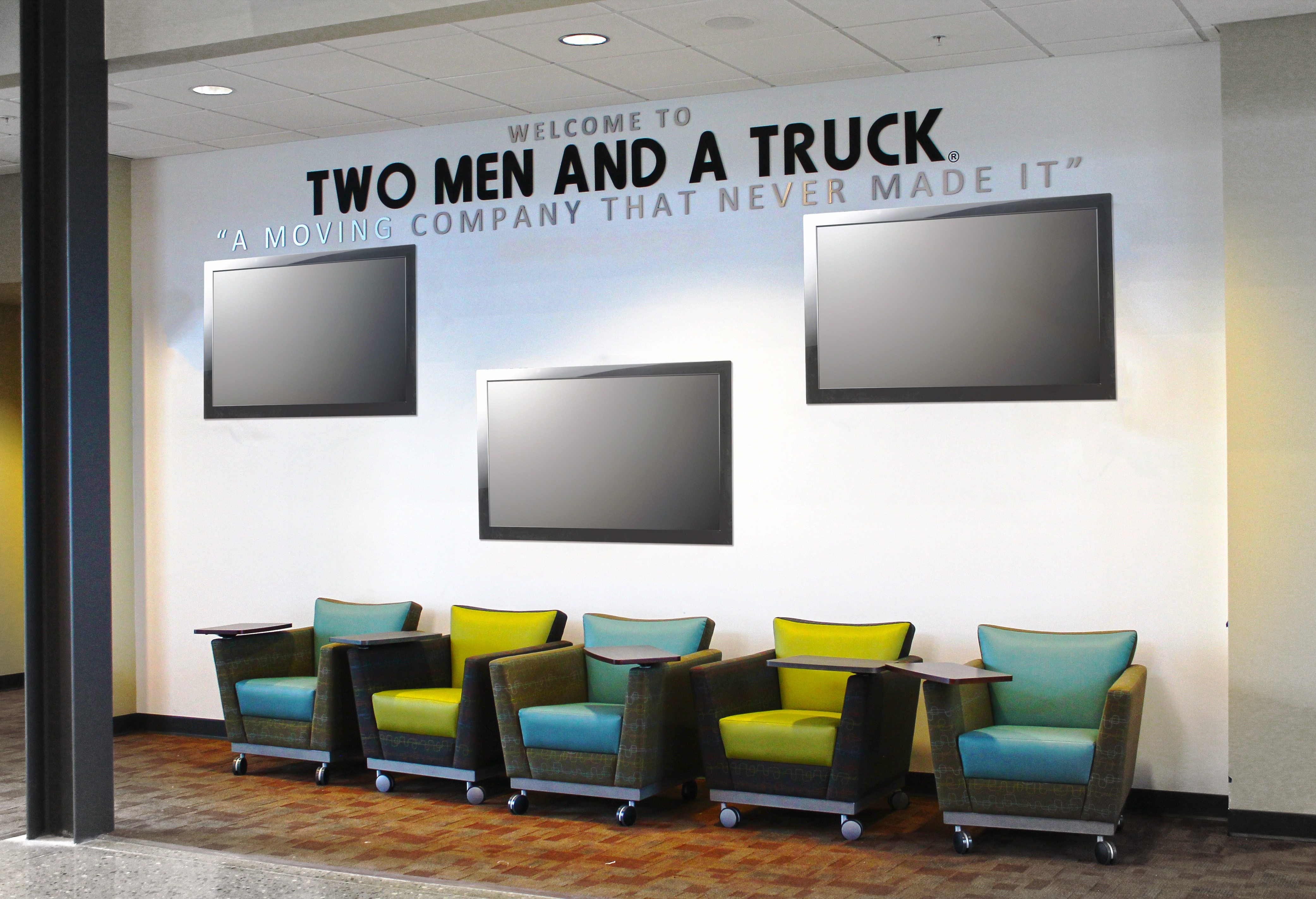 Two Men And A Truck Office Decor 06