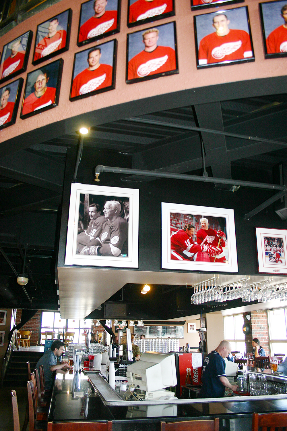 Hockeytown Cafe Framing 02