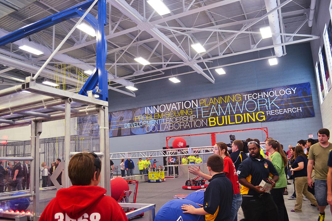 Kettering First Robotics Wall Display 04