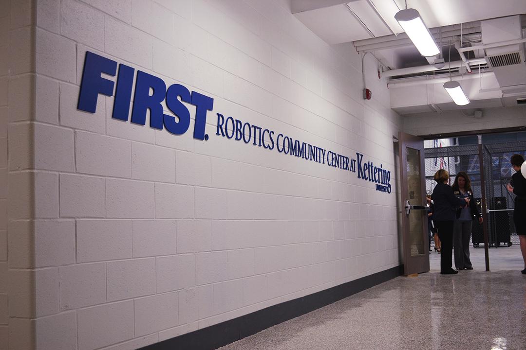 Kettering First Robotics Wall Display 14