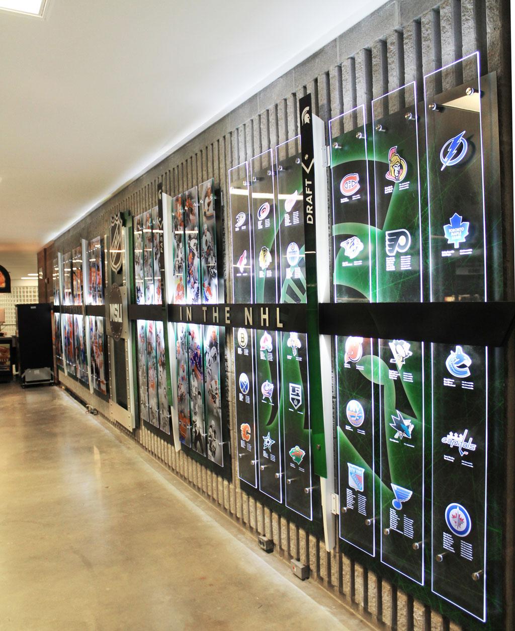 MSU Hockey NHL Display 04