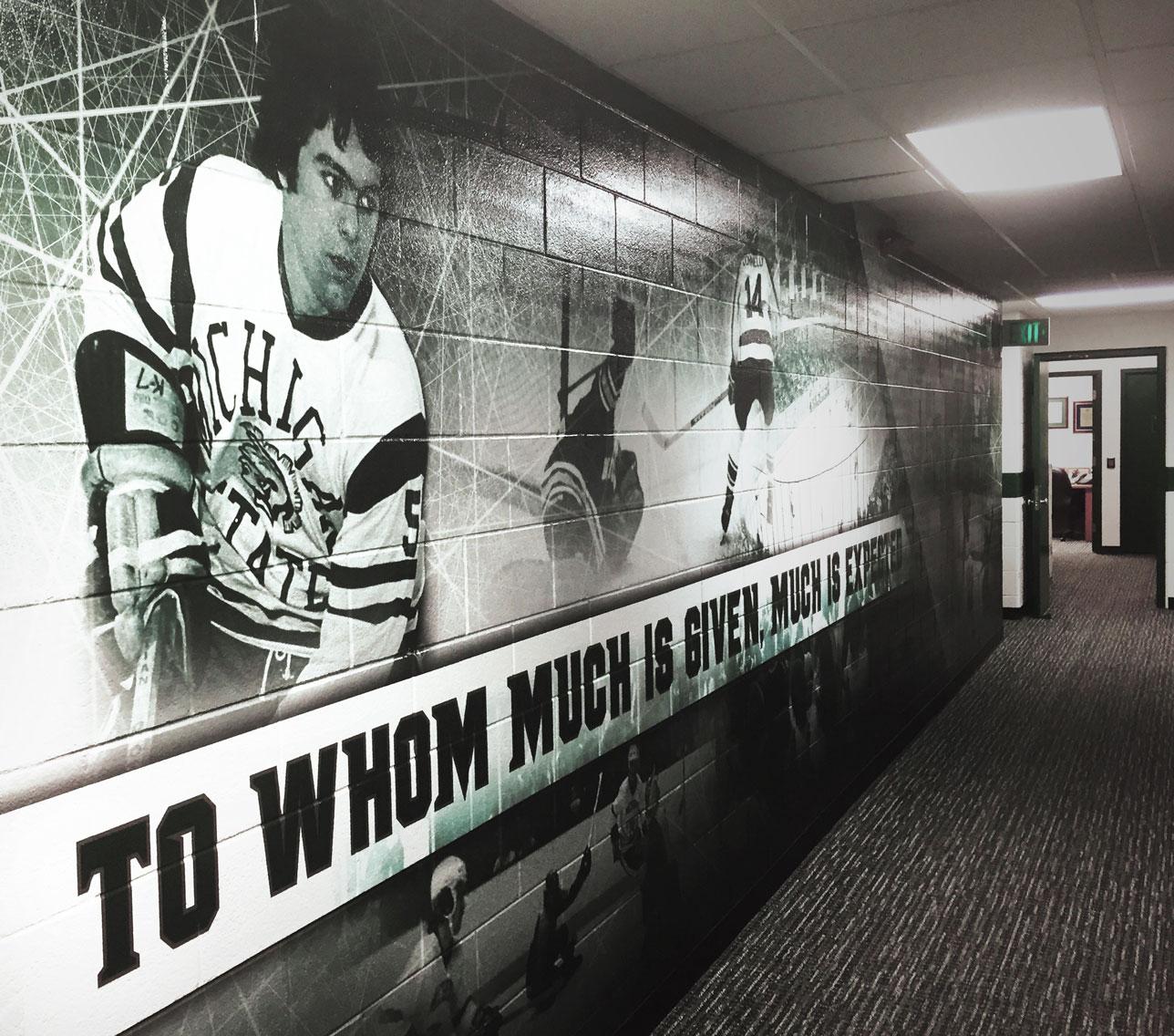 MSU Hockey Wallpaper 08