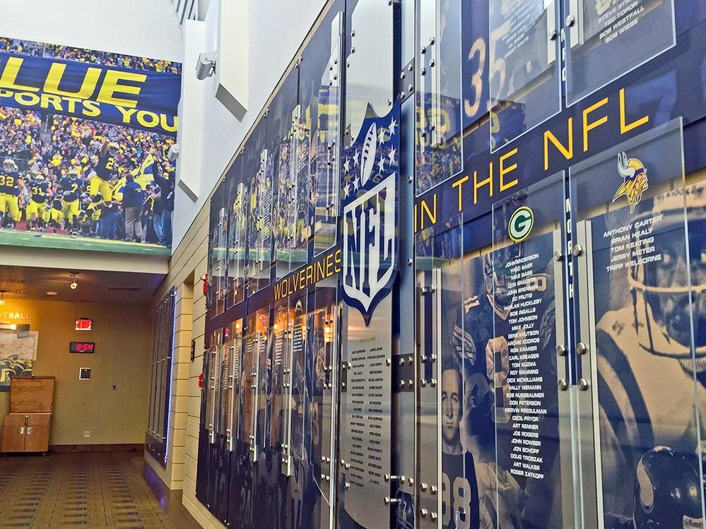 UM Schembechler NFL Display 06