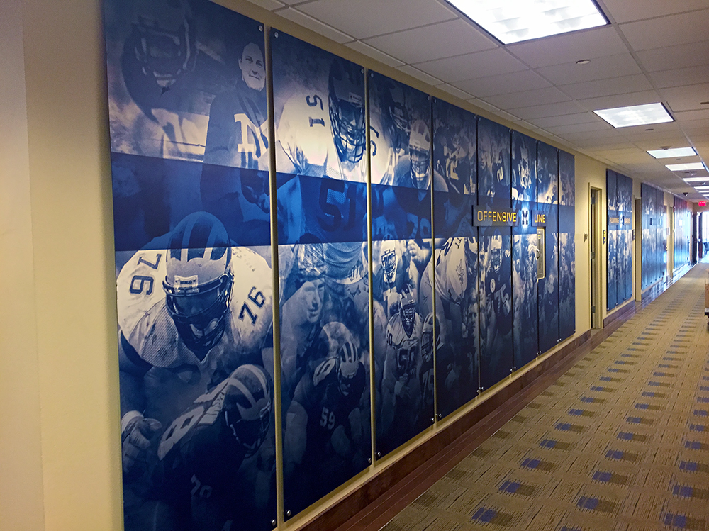 UM Schembechler Wall Displays 04