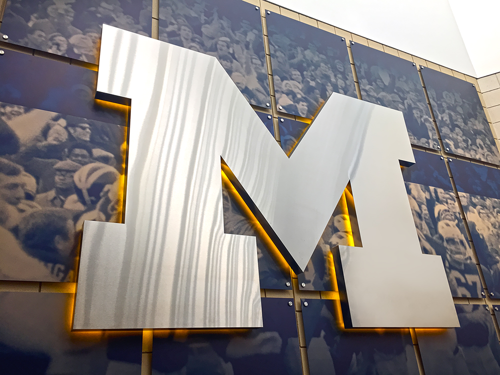 UM Schembechler Wall Displays 05