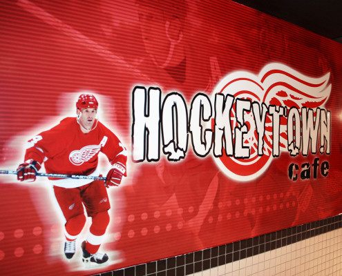 Hockeytown Cafe Wallpaper 01