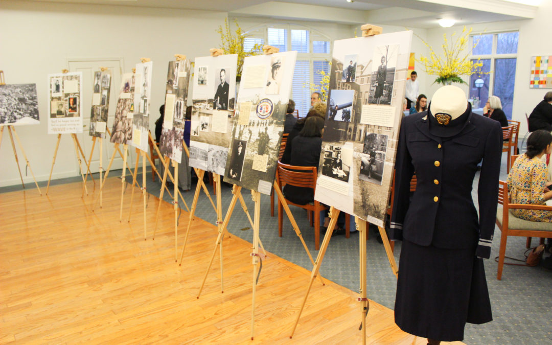 World War II Veterans of University Commons Exhibition